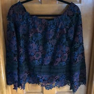 Willow and Clay Lace Top
